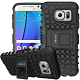 ykooe Coque Galaxy S7, Housse Samsung S7 Silicone Béquille Case Anti-Slip Etui pour...