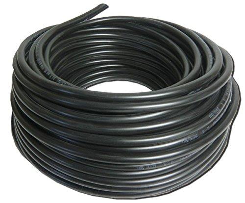 Preisvergleich Produktbild Erdkabel Schwarz NYY-J 3x2,5 Starkstromkabel, 100 meter