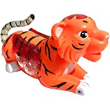 Funny Tiger With Music And Flash Light Toy - Multi Color