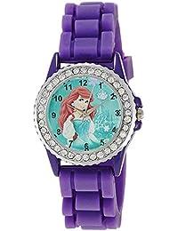 Disney Analog Multi-Color Dial Children's Watch - LP-1001 (Purple)