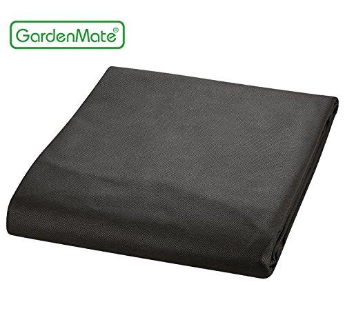 GardenMate 2mx5m Gartenvlies 50g/m² - Unkrautvlies Reißfestes Unkrautschutzvlies - Hohe UV-Stabilisierung - 2mx5m=10m²