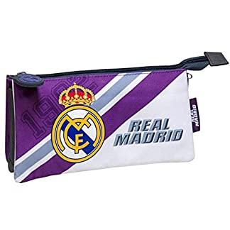 C Y P PT-273-RM Real Madrid Estuches, 22 cm, Multicolor