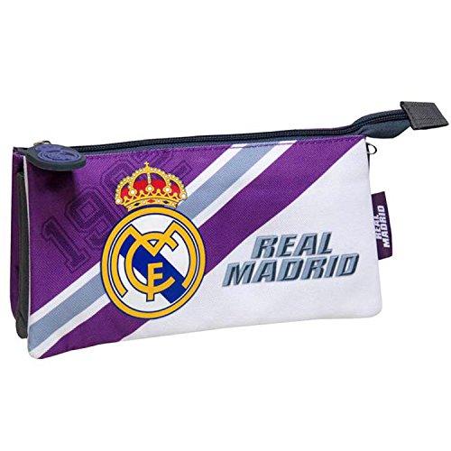 C Y P PT-273-RM Real Madrid Estuches, 22 cm, Multicolor