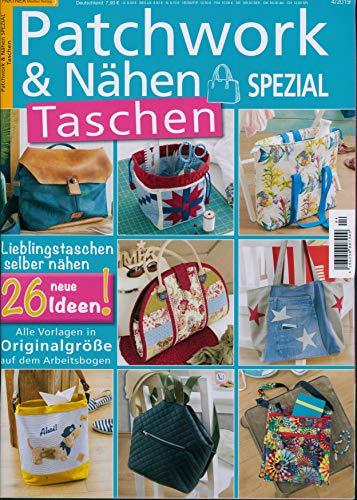 """Patchwork u Nähen Spezial 4/2019 \""""Taschen\"""""""