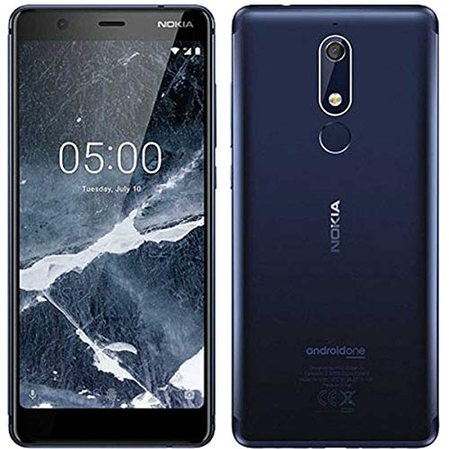 Nokia 5.1 (2018) 32GB Handy, blau, Android 8.0 (Oreo), Dual SIM (Nokia Gsm 4g)
