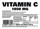 Syglabs Vitamin C 1000 mg Tabletten plus Biolavonoide und Hagebutte – 500 Tabletten, 1er Pack (1 x 650 g) - 4