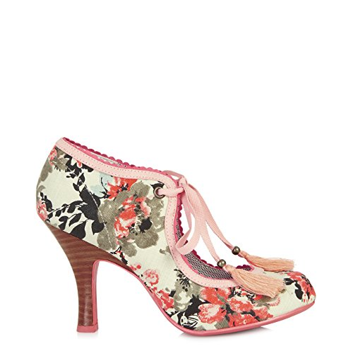 Ruby Shoo , Escarpins pour femme rose/blanc