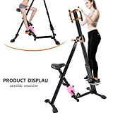 Tuff Concetps 2 in1 Foldable Sliding Mountains Climber Stepper X-Bike Exercise Bike Fitness Workout