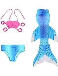 Pettigirl 3PCS Niña Traje De Baño Niños Cosplay Ropa Bikini