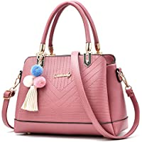 bf8a322e4a Oruil High Quality 3 Layers Shoulder Bag Soft Faux Leather Women Handbag  With Bag Charm For