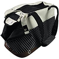 insapet Tragetasche PASSENGER Transporttasche für Katze oder Hund Katzentragetasche braun/beige/schwarz