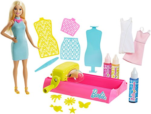 Barbie FPW10 Loves Crayola Color Magic Station mit Puppe (Barbie Magic Puppe)
