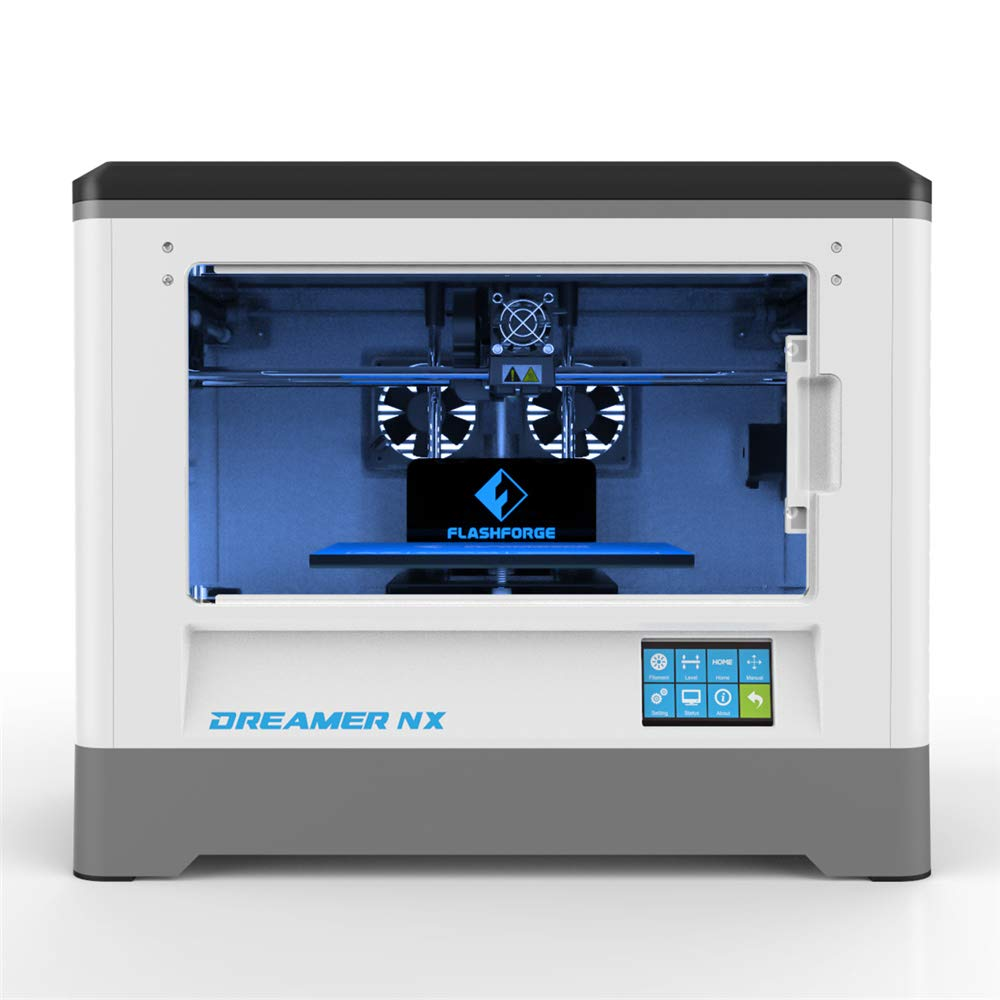 Flashforge-Dreamer-3D-Printer-Single-extruder-Printer-with-Clear-Door-and-Rear-Fans