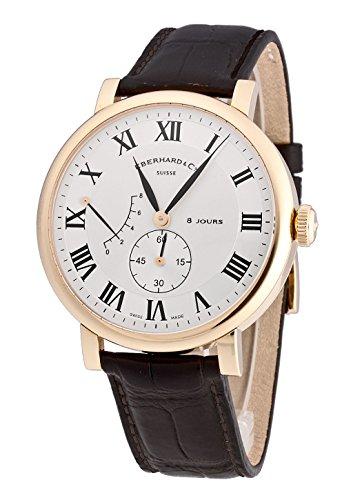 Eberhard & Co–Reloj de pulsera hombre 8Jours grande Taille 18kt. Oro Reserva de pantalla Cuerda Manual 20023.2CP