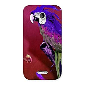 Enticing Magic Parrot Multicolor Back Case Cover for Micromax Canvas HD A116