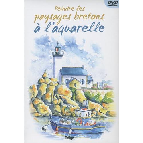 Peindre les paysages bretons à l'aquarelle (1DVD)