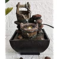 Waterfall (fountain) made of polycarbonate, LED light - Multy Bowls