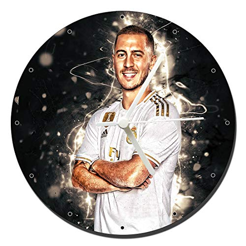 MasTazas Real Madrid Eden Hazard Wanduhren Wall Clock 20cm