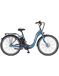 Prophete Damen Elektrofahrrad E-Bike Alu-City 28 Zoll Navigator 6.0, eisblau matt, 46, 52426-0111