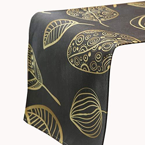 Chemin de table de Rectangle, Foulards de Couverture de Meuble TV/Commode, appropriés à la Table de Salle à Manger/Table Basse/Cabinet (Taille : 35×160cm)