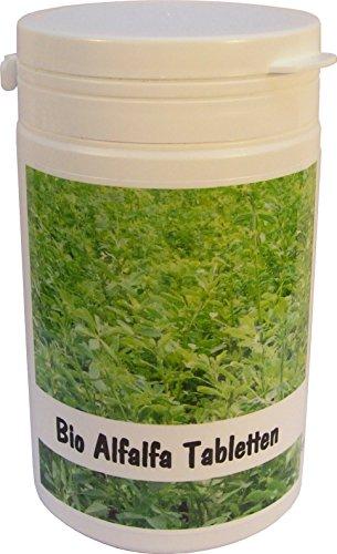 SANOS Bio Alfalfa Tabletten 200g / 500 Tabletten aus eigenem Anbau frisch vom Bodensee