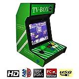 Hppgame Pandora's Box 3D Console de Jeux vidéo Arcade, 2448 en 1 Console de Jeux...
