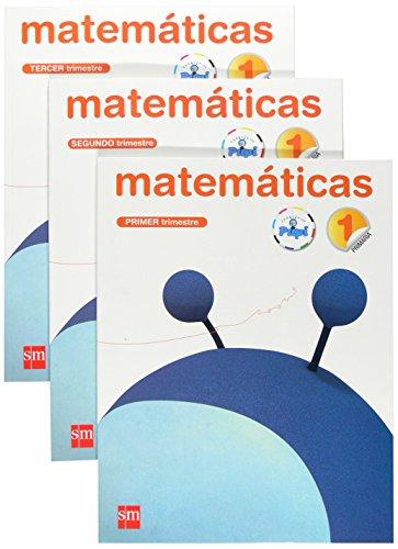 Matemáticas. 1 Primaria. Conecta con Pupi. Trimestres - 9788467546453