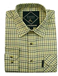 aff60adbadc Country Classics Mens Long Sleeve Check Shirts Casual Stylish Check Flannel  Outdoor