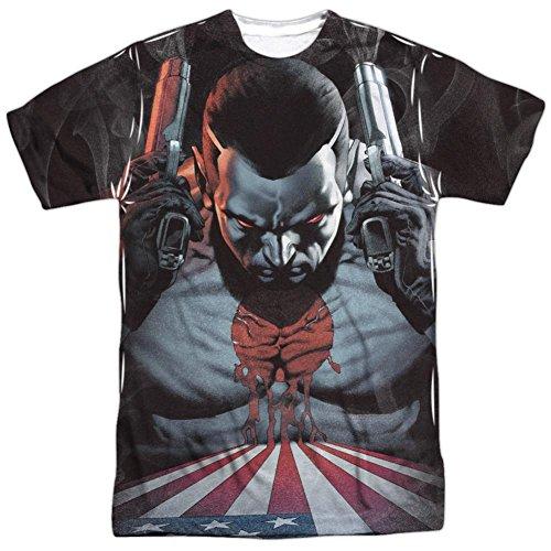 Bloodshot Herren T-Shirt Opaque weiß weiß Gr. Large, weiß