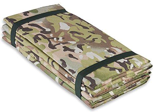 Highlander Outdoor Products Armee-Schlafmatte, Militär, Camping, Z-Faltmatratze, Schaumstofffarbe: HMTC