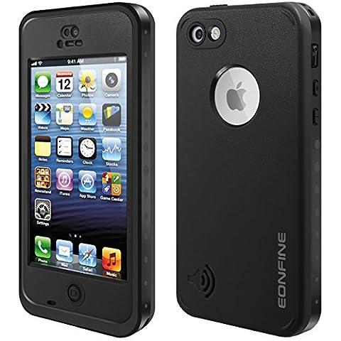 Coque Antichoc pour iPhone 5C, EONFINE Coque Etanche/Anti-Choc/Anti-Neige/Pare-Poussière/Imperméable pour iPhone