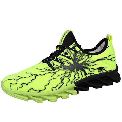Sneakers Basses Hommes, LuckyGirls Mode Nouveau Mode Sport Chaussures Hommes en Plein Air Mâle Boost Chaussures de Course Respirant Maille Chaussures de Sport 39-46