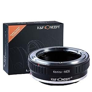 Adaptateur objectif pour monter objectif Konica AR à Caméra Sony NEX comme Sony NEX-3 NEX-3C NEX-5 NEX-5C NEX-5N NEX-5R NEX-6 NEX-7 NEX-VG10 en métal