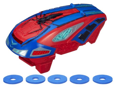 Hasbro A7407E24 - Spider-Man Strike Disc (Ziel Kostüme Spiderman)