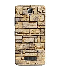 Fuson Designer Back Case Cover for Lenovo A2010 (Sober Executive Blocks Tiles Stones )