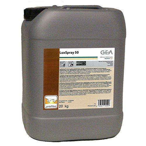 GEA Lux Spray 50 20 kg zitze Entretien