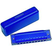 Gollnest & Kiesel - Armónica en carcasa de plástico, color azul