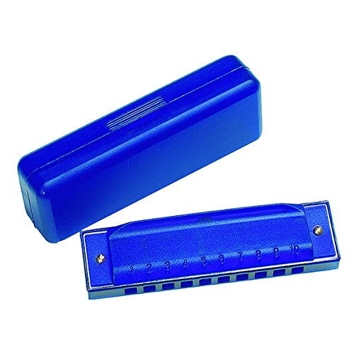 Goki 13008 - Musikinstrument - Mundharmonika in Kunststoffschachtel