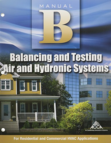 Balancing and Testing Air and Hydronic Systems Manual B -