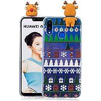 Everainy Huawei P Smart+/Nova 3i Silikon Hülle 3D Weihnachts dünn Durchsichtig Hüllen Handyhülle Gummi Huawei... preisvergleich bei billige-tabletten.eu