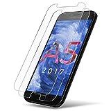 UTECTION 2X Panzerglas Folie für Samsung Galaxy A5 2017 Updated Version - Schutzfolie Glas gegen Displayschäden - Passgenaue Panzerglasfolie Displayschutzfolie Schutzglas Clear Durchsichtig