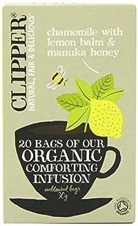 (2 Pack) - Clipper - Org Infusion Chamomile & Lemon   20 Bag   2 PACK BUNDLE