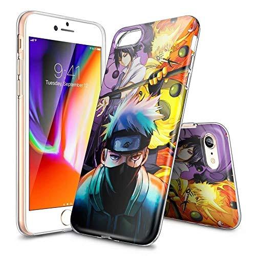 BAI JING Handyhülle für iPhone 5/5s/SE, Ultra Slim Clear TPU, Stoßfest und Kratzfest - KUNDENGERECHTE Muster [BJDE201905232] (Iphone 5s-naruto-fall)