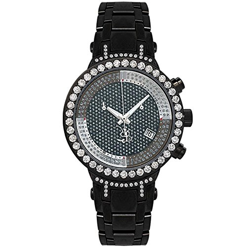 Joe Rodeo Diamante Orologio da donna - MASTER LADY Nero 2 CTW