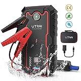 UTRAI Avviatore di Emergenza Jump Starter 2000A e 22000mah Avviatore Batteria (per Motori 12V Diesel 6.5L e Benzina 8.0L) Power Starter Portatile per Auto Moto