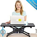 FITUEYES Computer Standing Desk PC Laptop Riser Stand/Folding Bed Table for Working/Eating/Reading/Study |