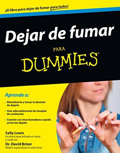 Dejar de fumar para Dummies por Sally Lewis