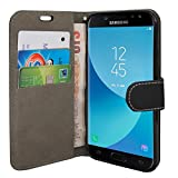 Gr8 value Luxury PU Leather Wallet Cover Flip book Phone Mobile case PU Leather Flip Case Cover for Samsung Galaxy S6 Edge (plain black book)
