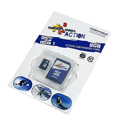 8Go Carte mémoire pour Sony Ericsson Xperia X10 Mini Pro (Micro SD)