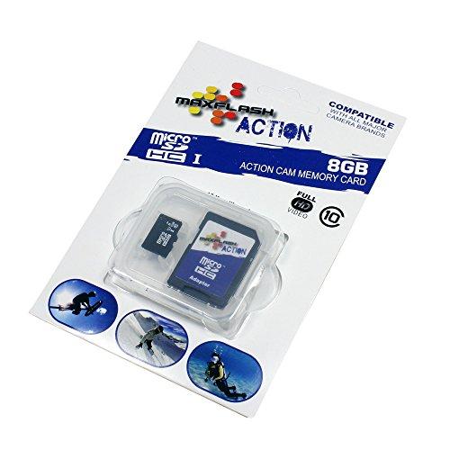 8GB Speicherkarte für LG GM310 (Micro SD, SD Adapter inklusive)